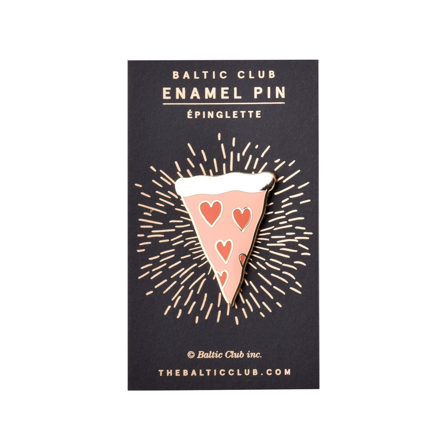 Pepperoni Lover Enamel Pin