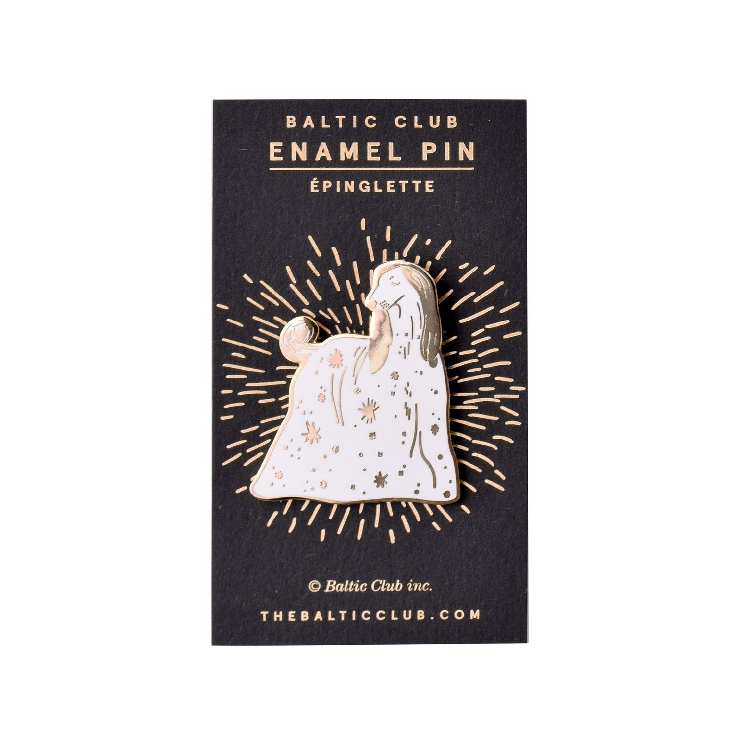 Celestial Dog Enamel Pin