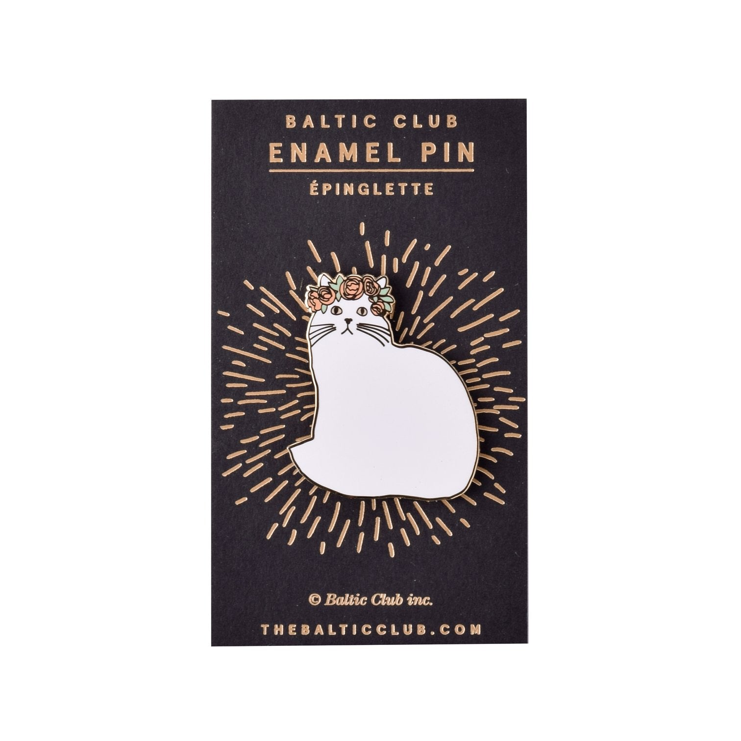Persian Cat Enamel Pin