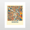 Winnipeg Map Print