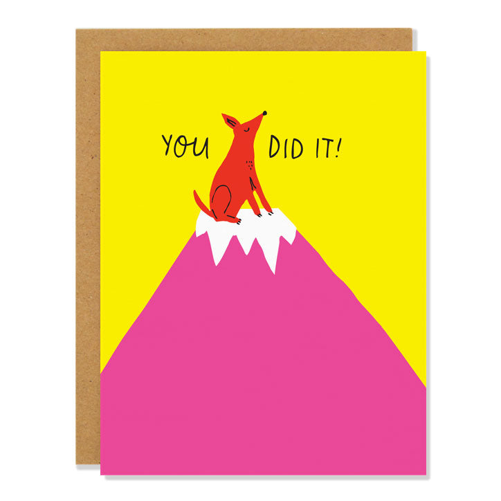 You Did It Card