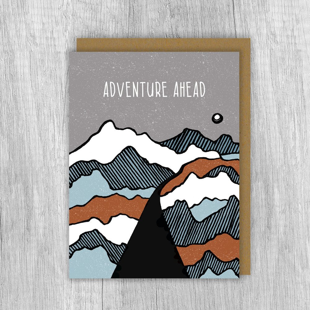 Adventure Ahead Card