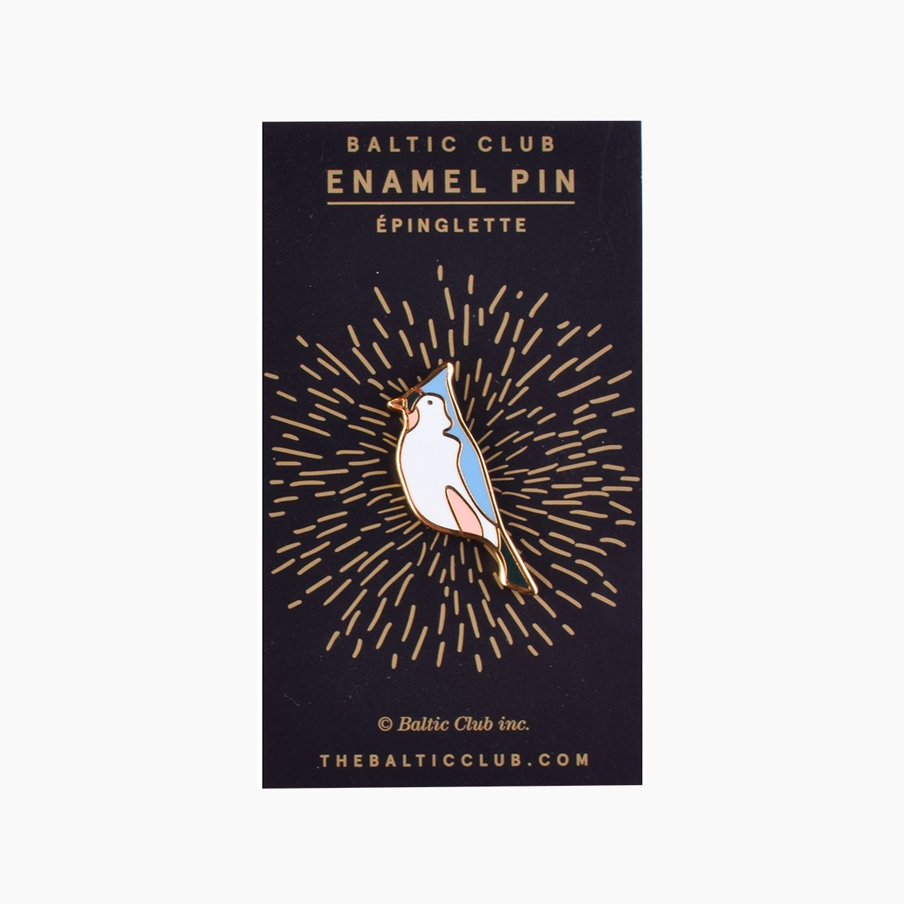 Bird Enamel Pin