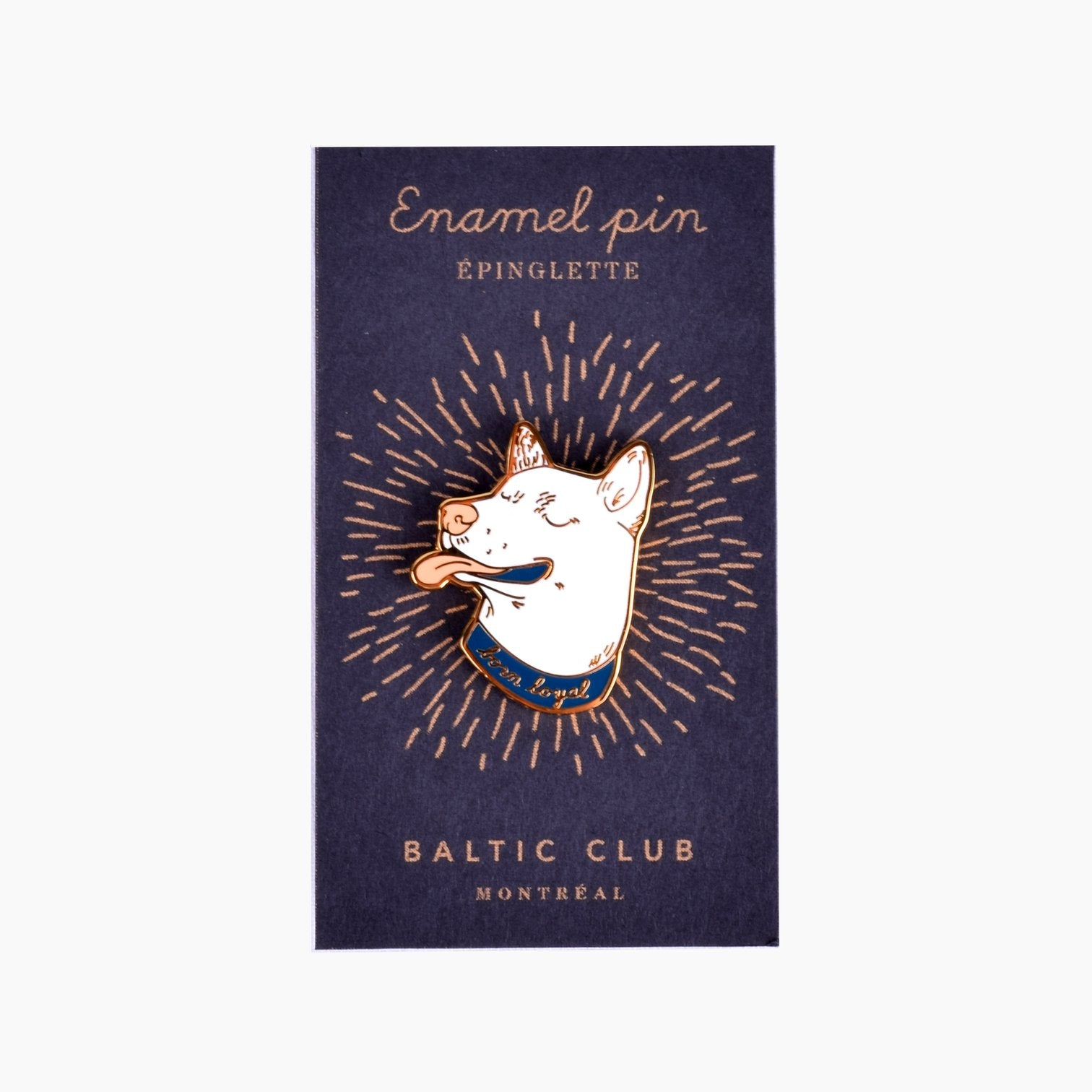 Born Loyal Enamel Pin