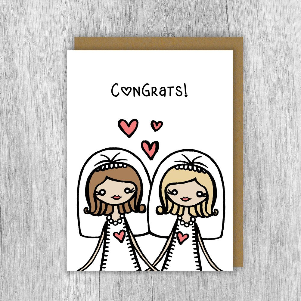 Congrats Brides Card