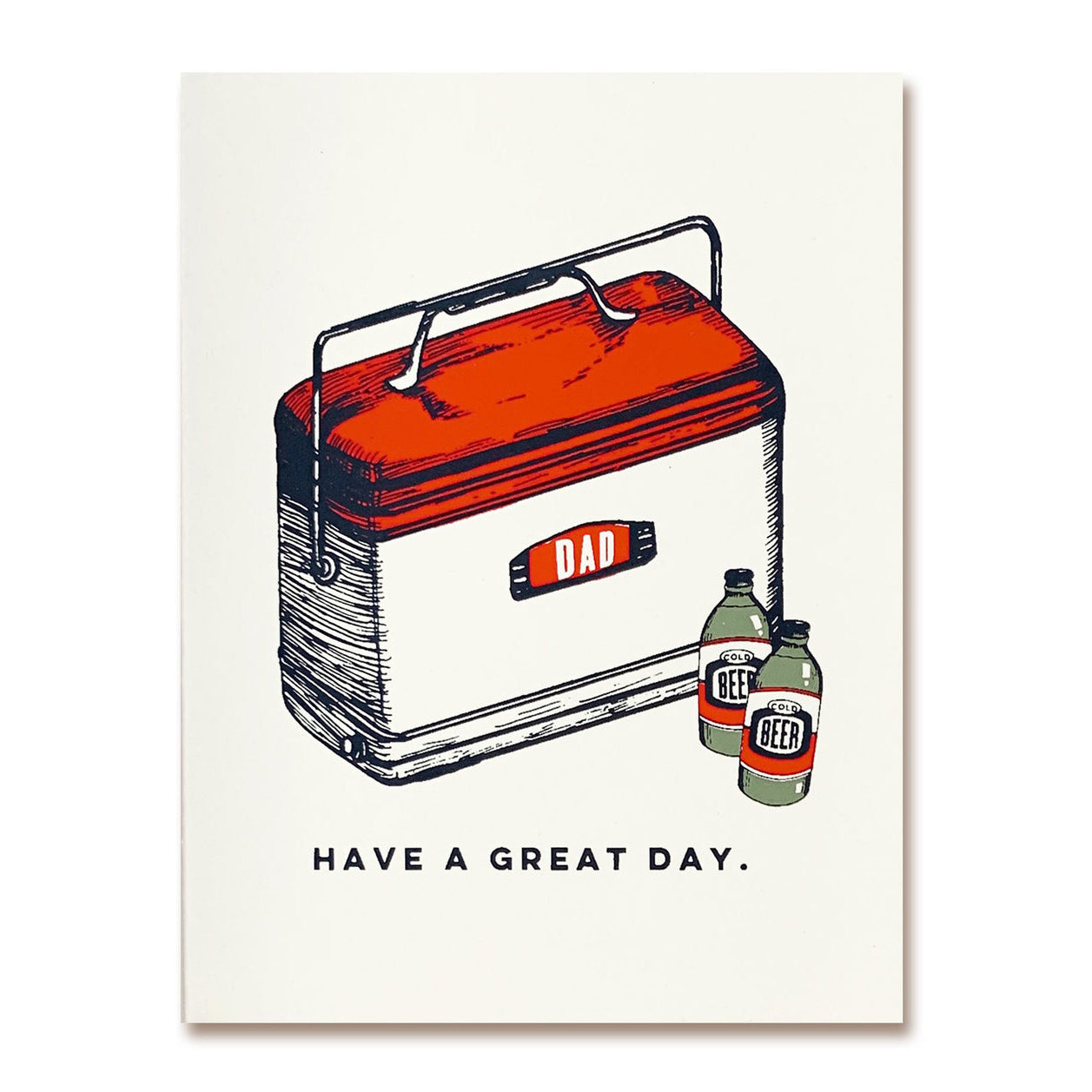 Dad Great Day Card