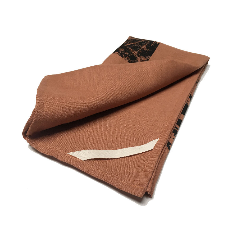 Joe Kool's Linen Tea Towel Copper