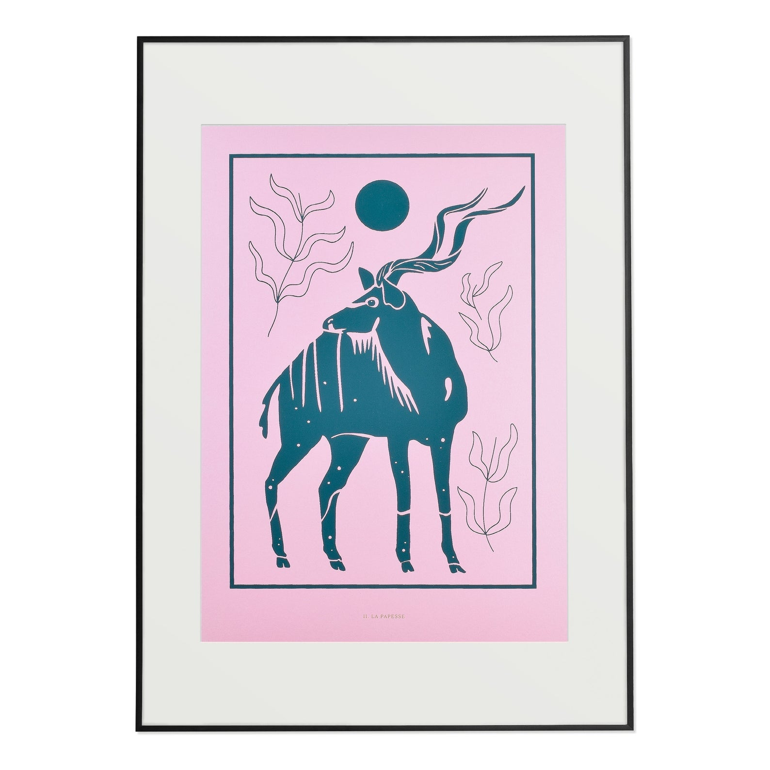 The High Priestess  - The Kudu Bull Print