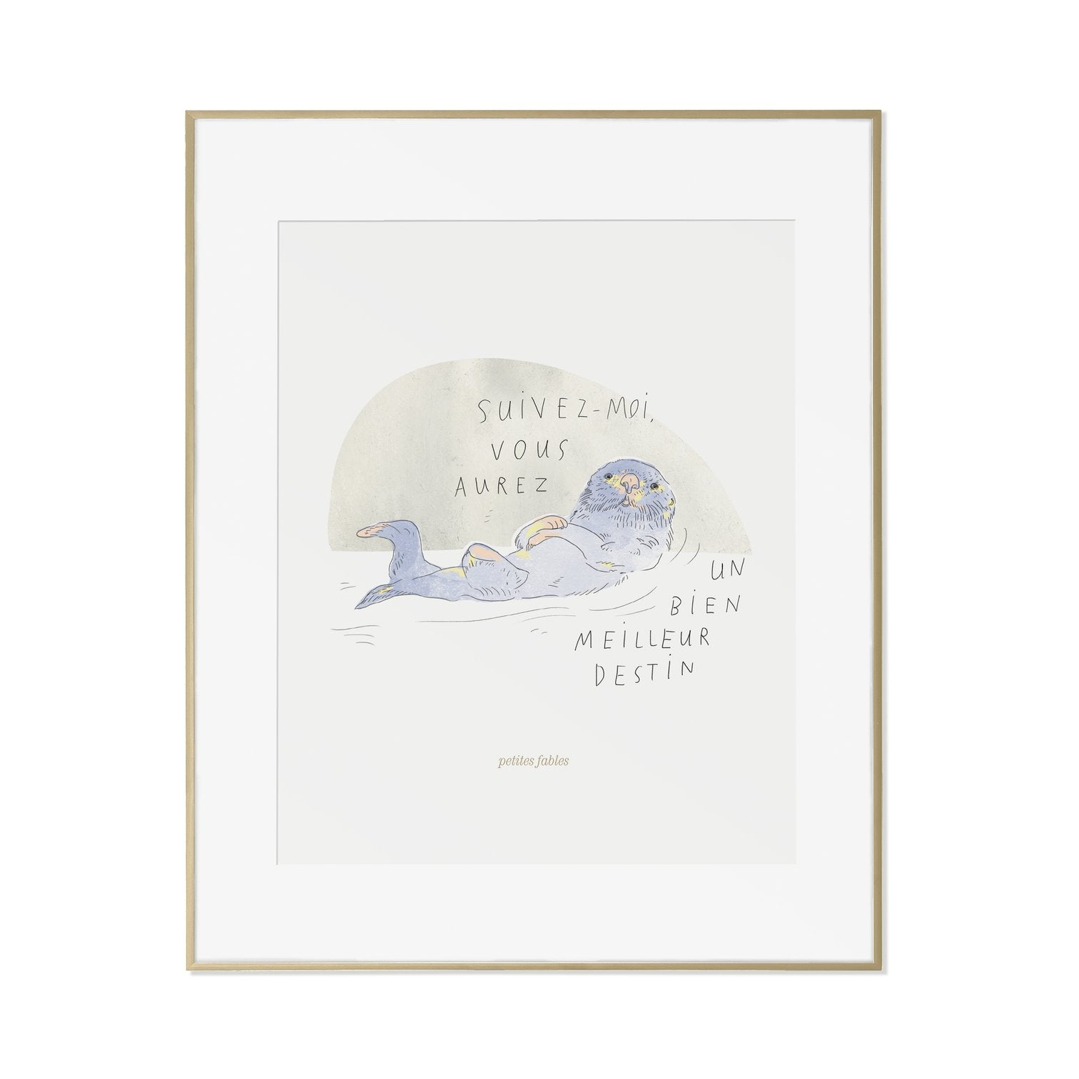 The Otter's Fable Print