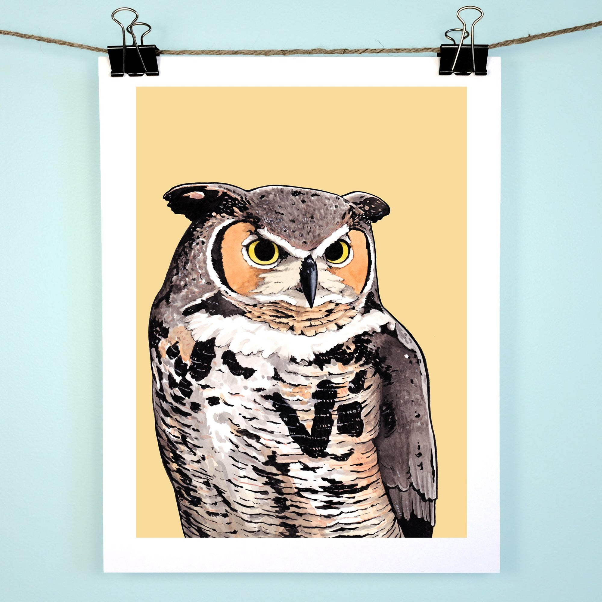 Great Horned Owl Print