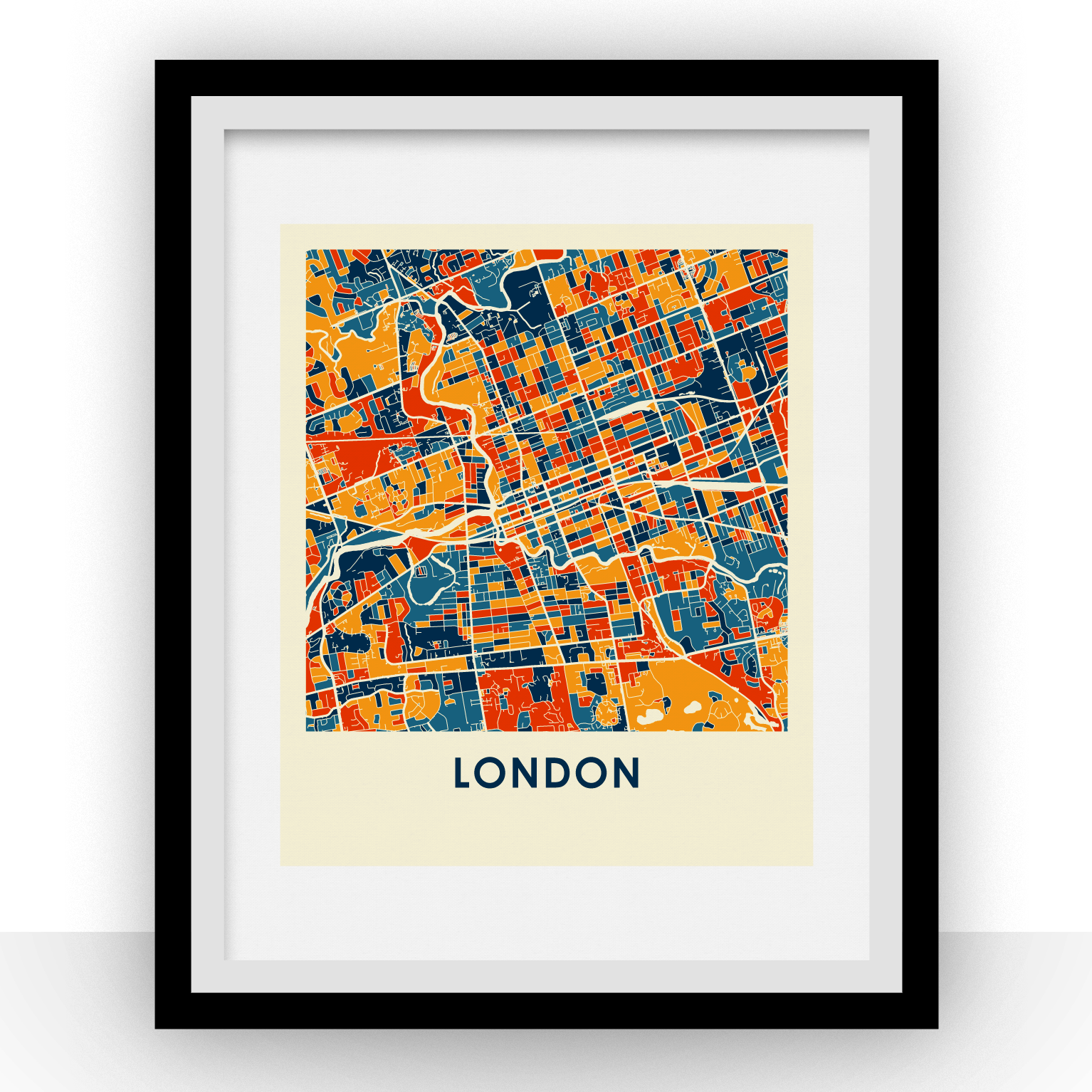 London Map Prints