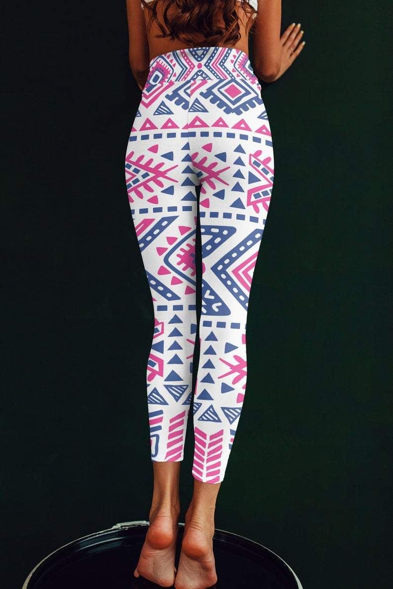 Tribal Printed leggings, Capris and Shorts freeshipping - PuaGme