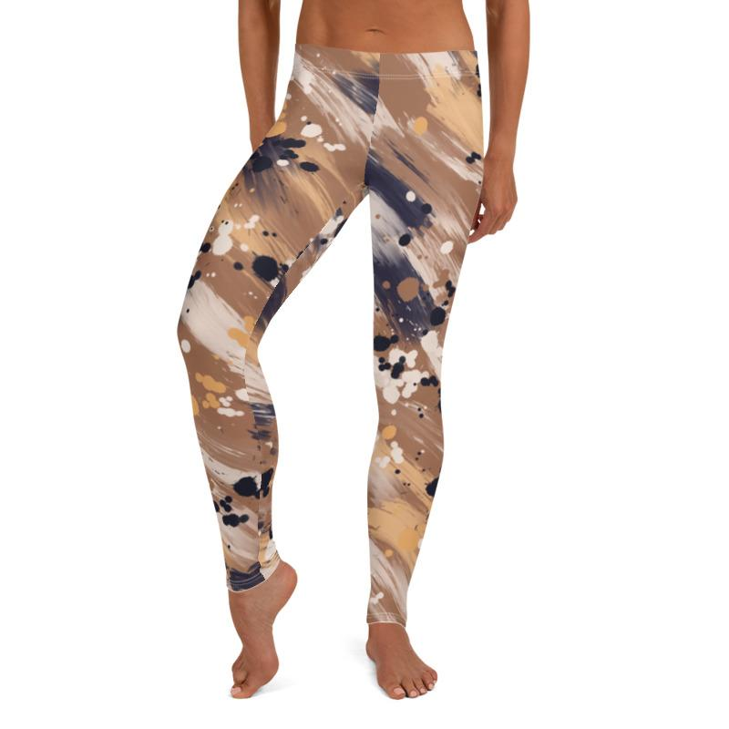 Abstract Leggings, Capris and Shorts freeshipping - PuaGme