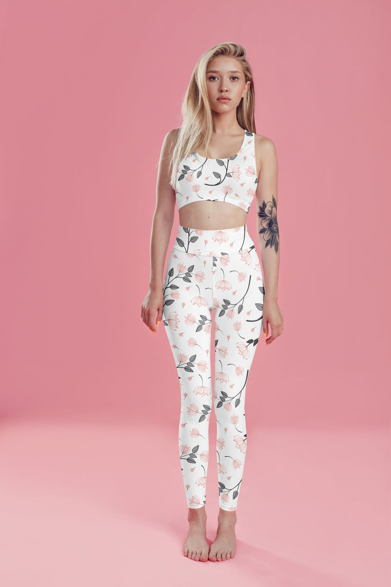 Floral Fitness Set freeshipping - PuaGme
