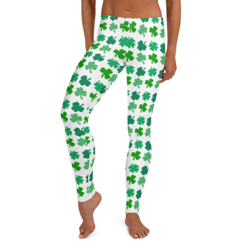 Shamrock leggings, Capris and Shorts