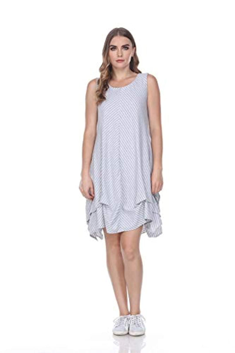 Neon Buddha Women's Standard South Beach Dress, Sporty Grey, Medium