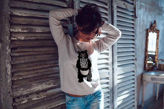 Bear Sweatshirt Women Sweatshirt Woman Hoodie