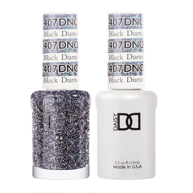 DND Gel Polish Black Diamond Star