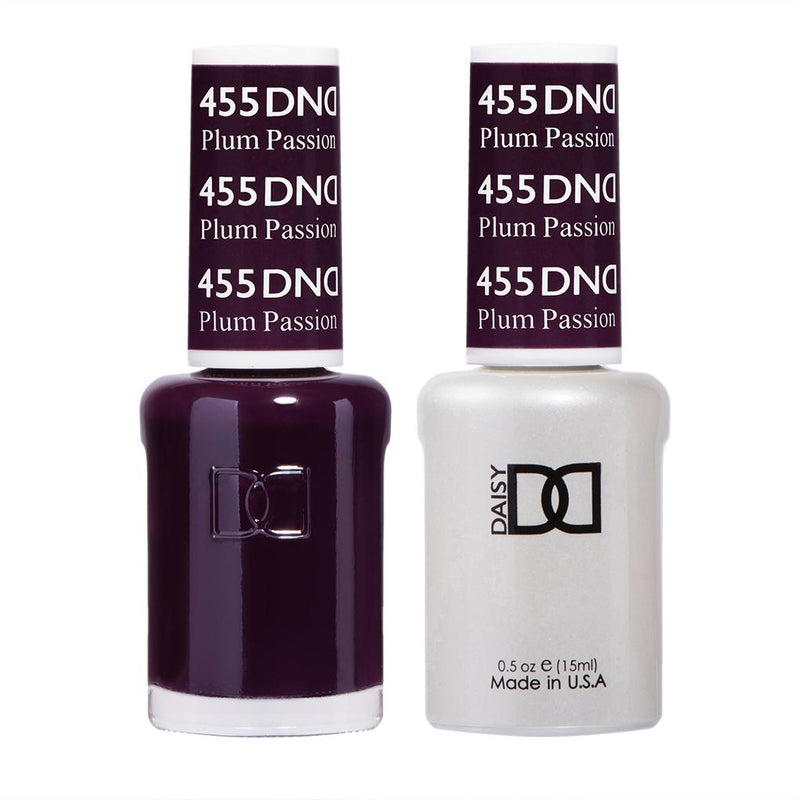 DND Gel Polish Plum Passion