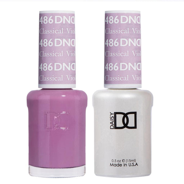 DND Gel Polish Classical Violet #486 freeshipping - PuaGme