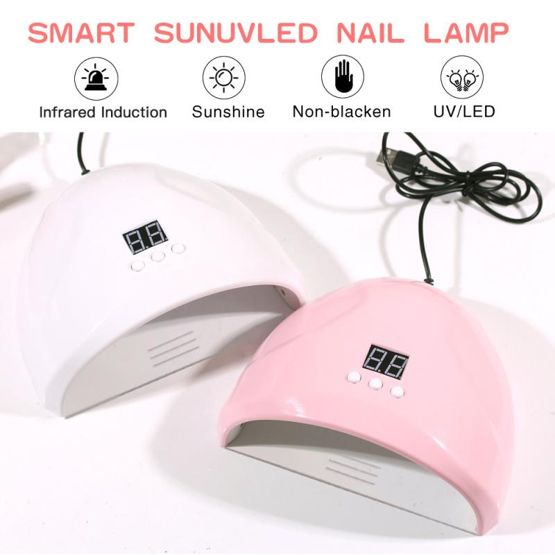 7 Colors 36W Nail Polish Dryer Proffessinal UV LED