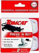 Tomcat Press 'N Set Mouse Trap, 2-Pack FREE DELIVERY USA