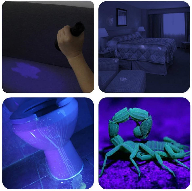 LITE Black Light UV Flashlight, Escolite UV Lights 51 LED Ultravioletc FREE DELIVERY USA