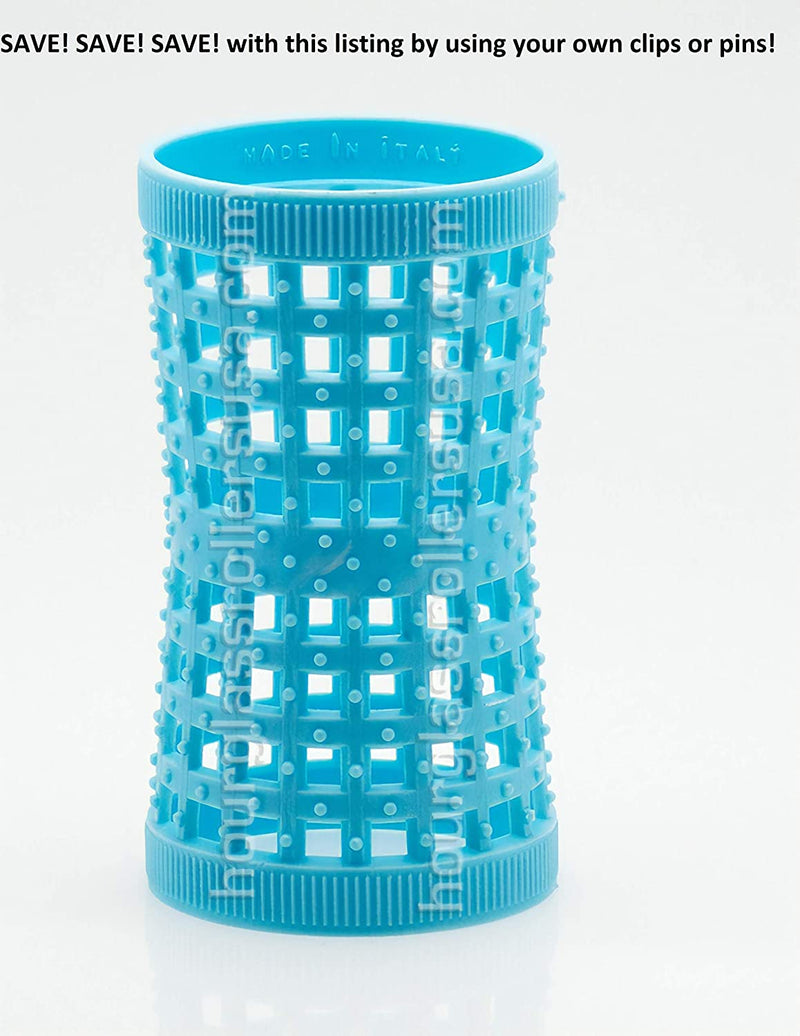 White Hourglass Mesh Tension Rollers - 1.85inches (47mm) (6 Rollers per pack) freeshipping - PuaGme