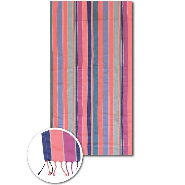 Multi stripes beach towels