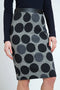 Polka Dot Pencil Skirt freeshipping - PuaGme