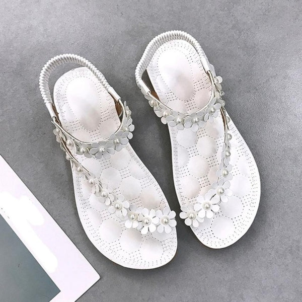 Casual Beach Sandals Women Summer Leather Female freeshipping - PuaGme