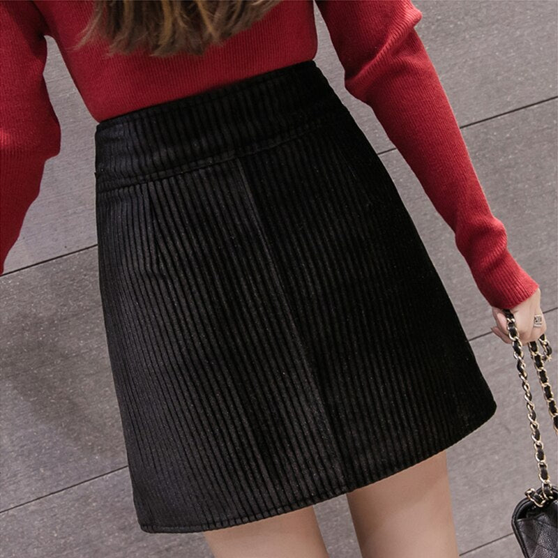 Casual Ladies Short Skirts A line Empire Skirts freeshipping - PuaGme