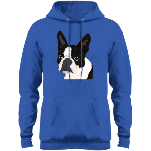Boston-Terrier Fleece Pullover Hoodie freeshipping - PuaGme