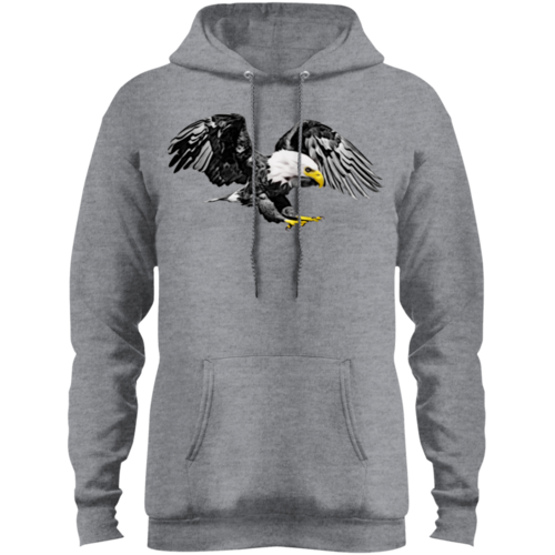 Eagle Core Fleece Pullover Hoodie freeshipping - PuaGme