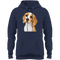 Beagle Fleece Pullover Hoodie freeshipping - PuaGme