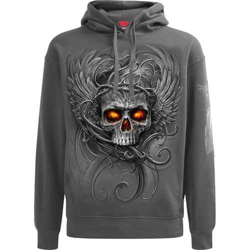 ROOTS OF HELL - Hoody Charcoal freeshipping - PuaGme
