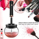 Electric Makeup Brush Cleaner Convenient Silicone Make up Brushes