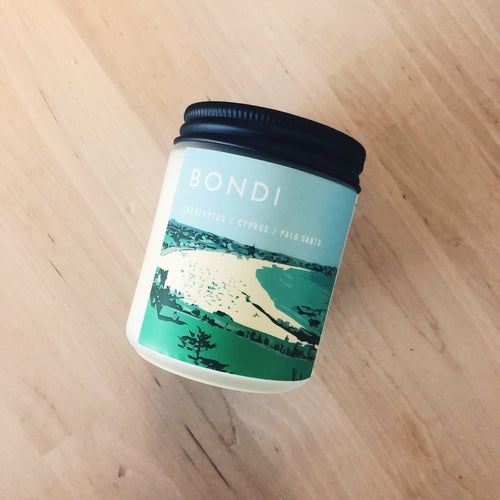 Bondi Vegan Scented Soy Candle freeshipping - PuaGme