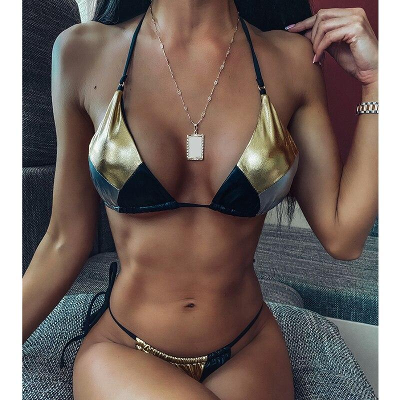 Halter Swimsuit for Women Micro Sexy Bikinis freeshipping - PuaGme