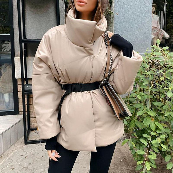Warm Fashionable Women's Parkas Thick Winter Coat