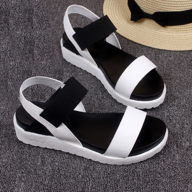 Hot Sale 2018 Women's Summer Sandals Leather Shoes freeshipping - PuaGme