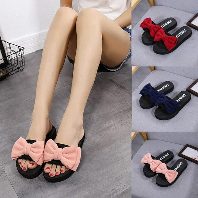 Hot Sale Women Flip Flop Bow Summer Sandals freeshipping - PuaGme