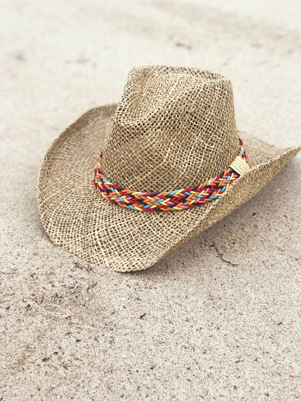 'Charlotte' Multi-Color Band Cowboy