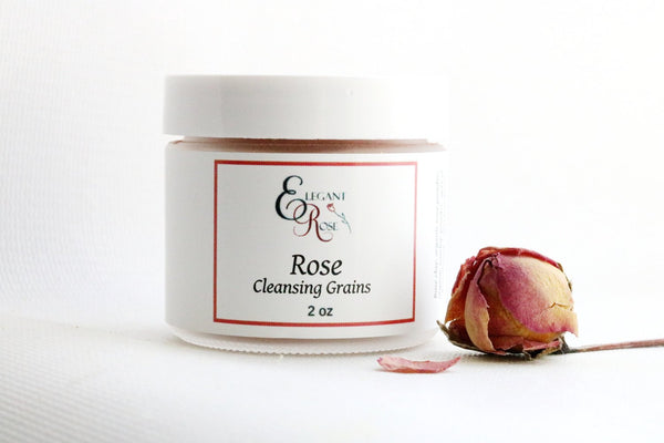 Rose Cleansing Grains, Natural Skin Care freeshipping - PuaGme