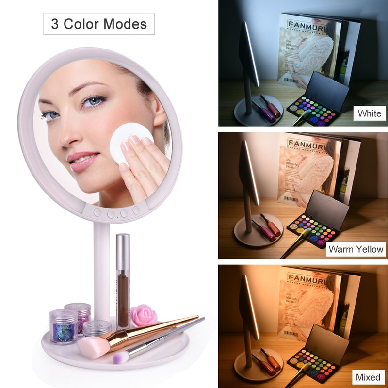 LED Makeup Mirror with 7x Magnifying Makeup Vanity freeshipping - PuaGme
