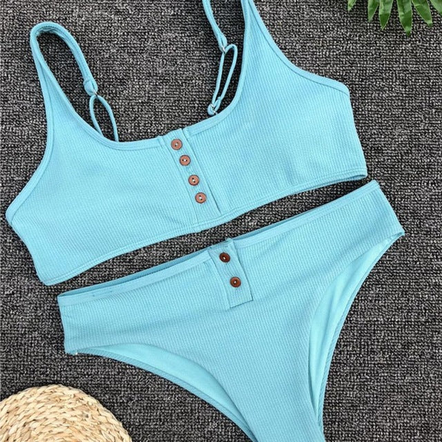 New Arrival Women Push-Up Padded Bra Beach Bikini freeshipping - PuaGme
