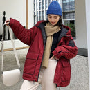 Space Cotton Padded Coat Women Winter freeshipping - PuaGme