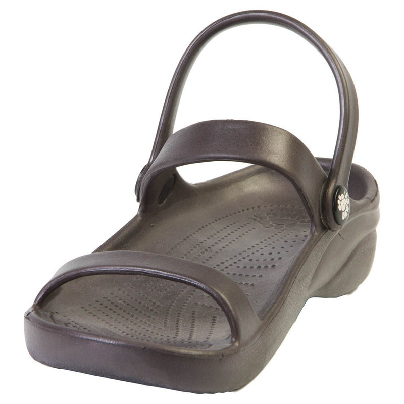 Women's 3-Strap Sandals - Dark Brown freeshipping - PuaGme