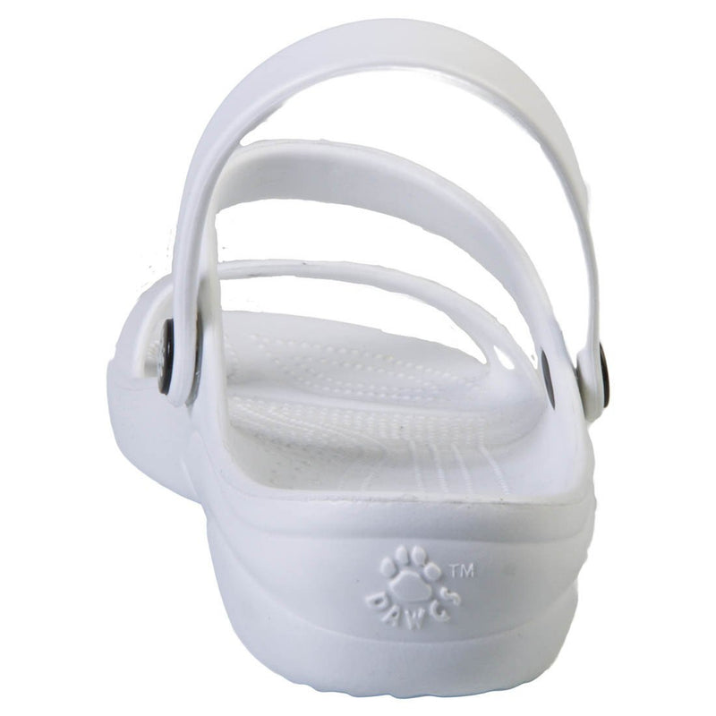 Women's 3-Strap Sandals - White freeshipping - PuaGme