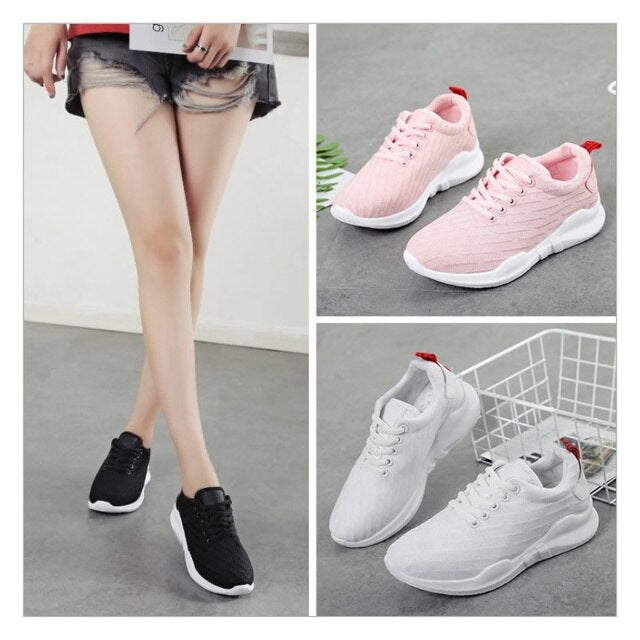 Women Sneakers Female Sport Shoes Mesh freeshipping - PuaGme